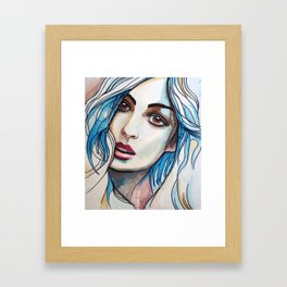 Cloe Framed Art Print
