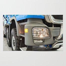 Modern large truck Rug