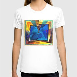 Extroversion Digital Art Abstract Art By Annie Zeno  T-shirt