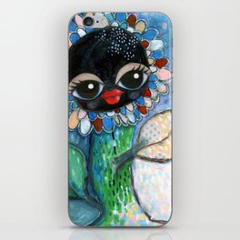 """Waving at you"" iPhone Skin"