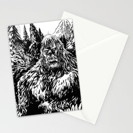 PACIFIC NORTHWEST SASQUATCH Stationery Cards