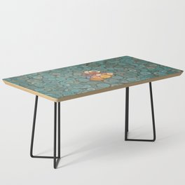 buttons fantasy blue lake Coffee Table