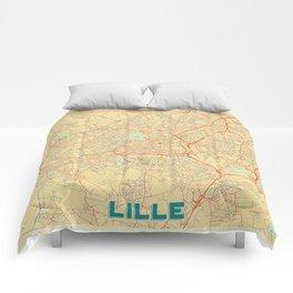 Lille Map Retro Comforters