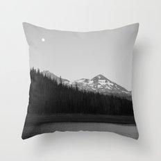 Hand Lake Throw Pillow