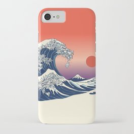 The Great Wave of Maltese iPhone Case