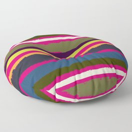 Spurious Rainbow Floor Pillow