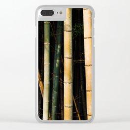 Bamboo Spectrum Clear iPhone Case