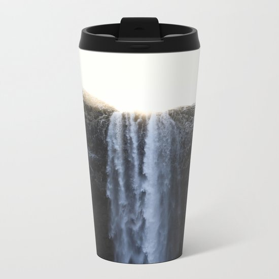 Waterfall Metal Travel Mug
