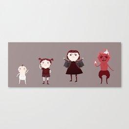 Evilution Canvas Print