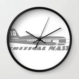 CRITICAL MASS Wall Clock