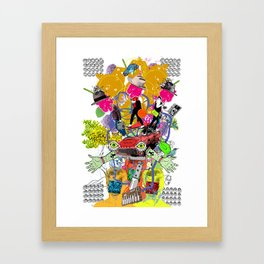 Select Collision Framed Art Print