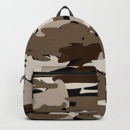 Camo - brown Backpack