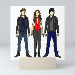 Outfits of Vamps Mini Art Print