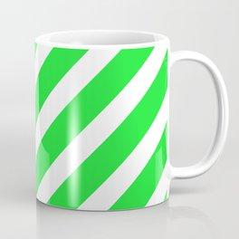 Basic Stripes Green Coffee Mug