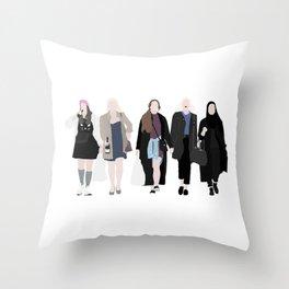 SKAM Throw Pillow