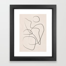 Abstract Line I Framed Art Print