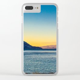 Sunrise over Norway Clear iPhone Case