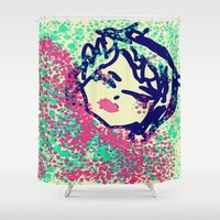 doll Shower Curtains featuring Doll by WDeluxe
