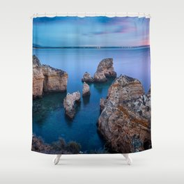 Lagos, Portugal Shower Curtain