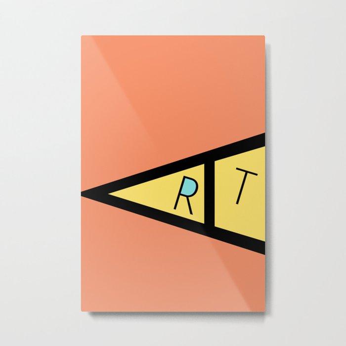 art 23 Metal Print