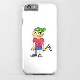 Awsome & Cool Slingshot Tshirt Design Indecision iPhone Case