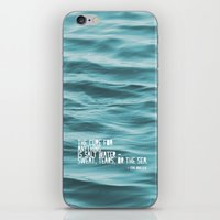 the cure iPhone & iPod Skins featuring SaltWater Cure by Christine Hall