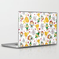 dorothy Laptop & iPad Skins featuring Dorothy & Friends by Pig & Pumpkin