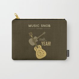 Yeah or Meh: The Acoustic Guitar — Music Snob Tip #102 Carry-All Pouch