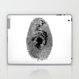Mark of a great detective Laptop & iPad Skin