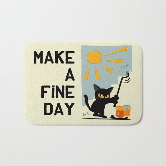 Fine day Bath Mat