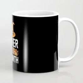 Cover Your Meowth Funny Halloween Coffee Mug