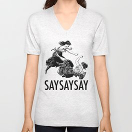 Say Say Say - I'm Your Huckleberry Unisex V-Neck