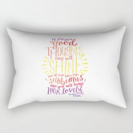You Will Always Look Lovely [Roald Dahl] Rectangular Pillow