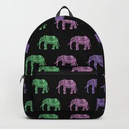 Tribal elephant pattern Backpack