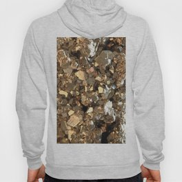 Golden Pyrite Mineral Hoody