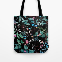 Great Nature Explosion at Night Tote Bag