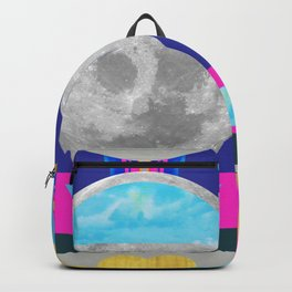 Abstractions No. 3: Moon Backpack