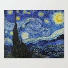 Starry Night by Vincent van Gogh Leinwanddruck