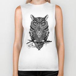 Warrior Owl 2 Biker Tank
