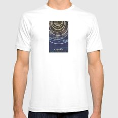 Moon Phases SMALL Mens Fitted Tee White