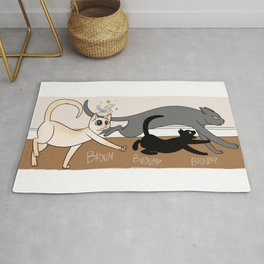 Furred Frenzy - Cat Rampage Rug