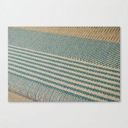 Blue twill  Canvas Print