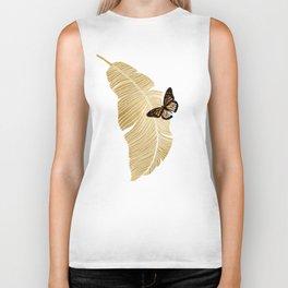 Butterfly & Palm Biker Tank