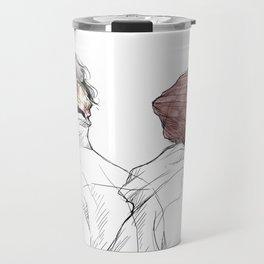 Rose and Dagger Travel Mug