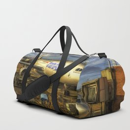 Iran Air Airbus A330 Art Duffle Bag