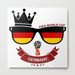FIFA WORLD CUP 2018 - Germany Metal Print