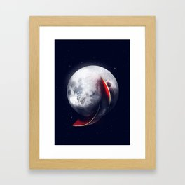 Watermelmoon Framed Art Print
