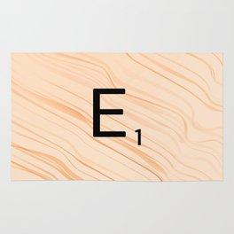 Scrabble E - Large Scrabble Tiles Rug