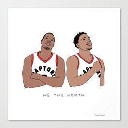 Kyle & DeMar Canvas Print