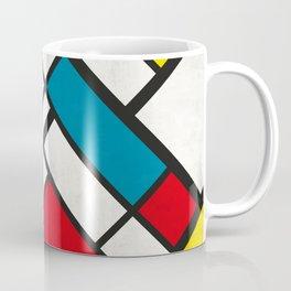 Mondrian De Stijl Coffee Mug